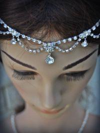 Wedding Tikka Headpiece - Indian Inspired Crystal Jewelry ...