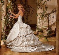Current Eve of Milady Bustle period inspired wedding gown ...