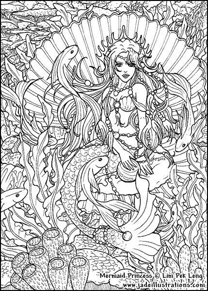 Best 25 mermaid coloring ideas only on pinterest adult