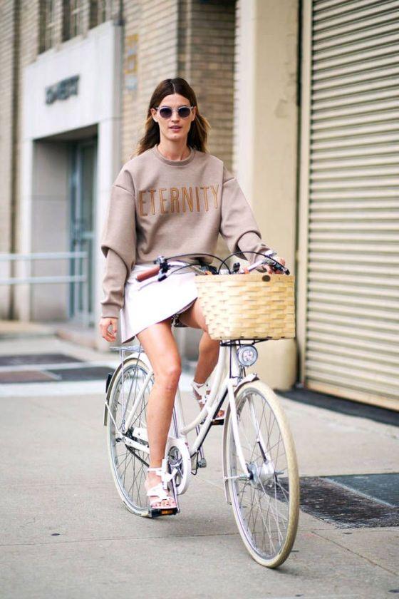 Hanneli's retro Calvin Klein moment. NYC. #HanneliMustaparta