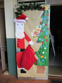 61 best images about christmas door decorations on Pinterest