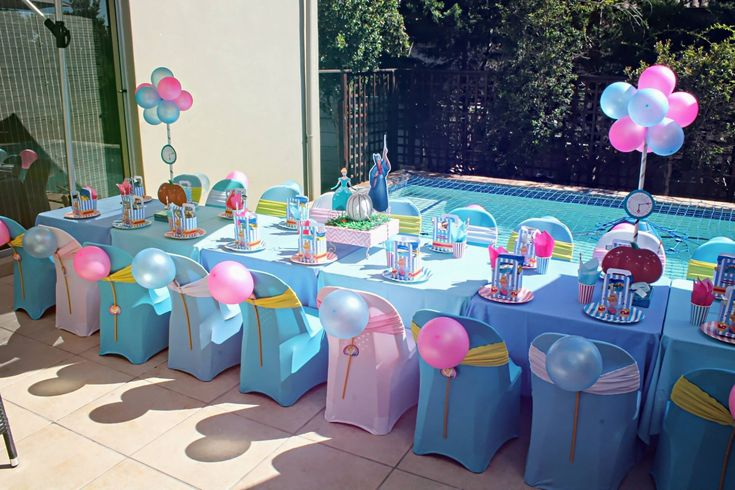 Party Tischdeko Retro Cinderella Kids Party Table By Supakids Sa - Cape