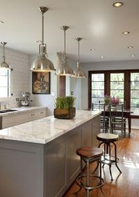25+ best ideas about Modern kitchen lighting on Pinterest