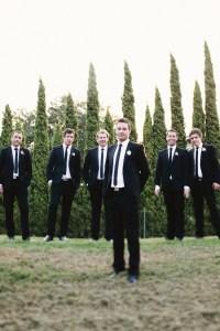 Groomsmen: Black Suit, White Shirt, Black Tie | guys ...