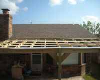 How to Build a Patio Cover with a Corrugated Metal Roof ...