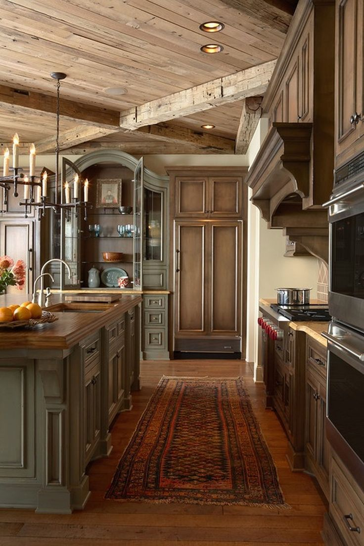 Images Of Rustic Mahogany Cabinets In Kitchens Splendid Mahogany Unstained 4 Panel Kitchen Entry Door