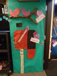 Valentine's Day Classroom Door Decoration