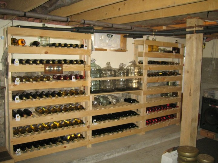 Woodworking Projects Wine Rack Awesome Purple