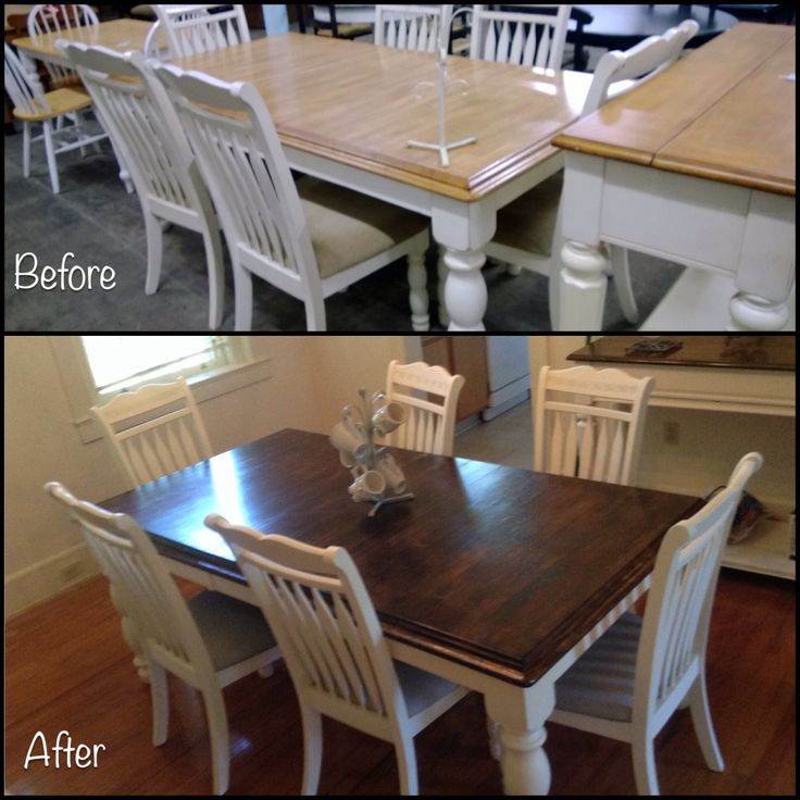 35 Best Images About Dining Room Table Refinish On