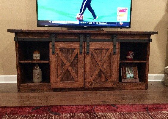 Sliding Barn Door Entertainment Center 1000+ Ideas About Rustic Entertainment Centers On
