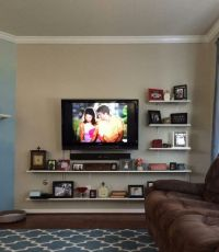 wall mount tv ideas for living room  Roselawnlutheran
