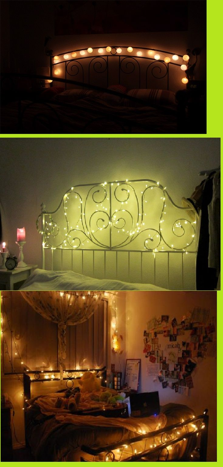 Lichterkette Am Bett 17 Best Images About Lichterketten On Pinterest | Deko