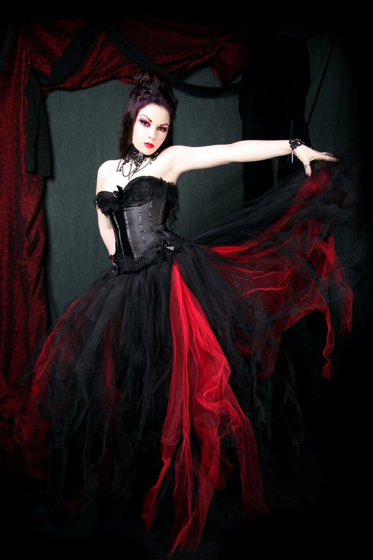 wierd and unusual red gothic wedding dress Cheap dress patterns prom dresses Buy Quality dress up casual dress directly from China dress salsa Suppliers Red And Black Gothic Wedding Dresses Tulle