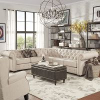 25+ best ideas about Tufted sectional on Pinterest ...