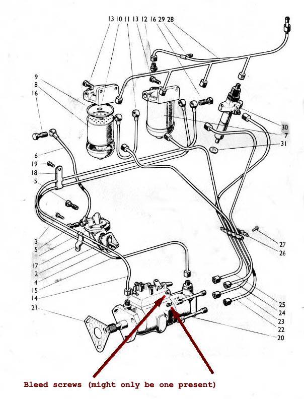 david brown 1390 wiring diagram