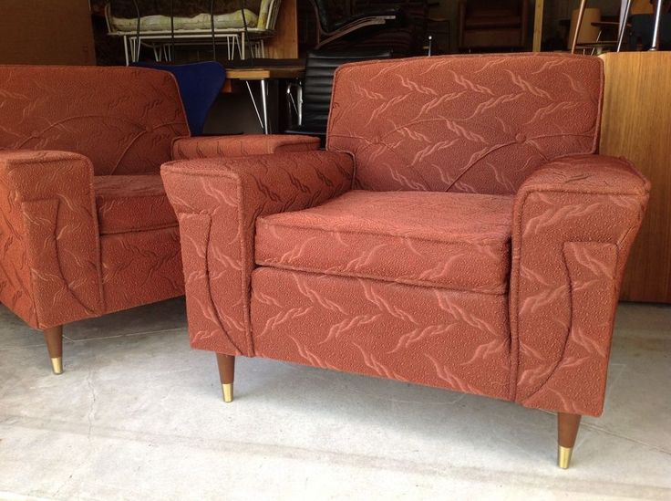 Retro Futuristic Sofa Great Vintage Kroehler Lounge Chairs Mid Century Modern