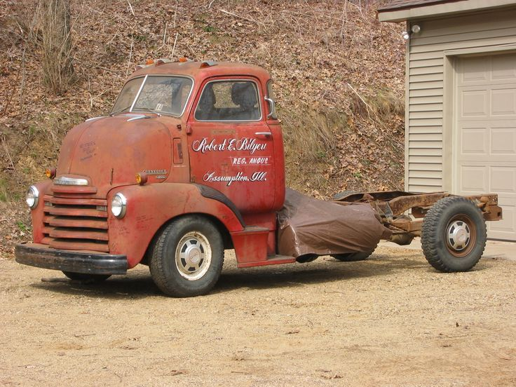 1949 gmc cab over pickup truck