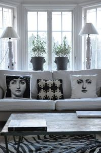 Fornasetti pillows | Living room | Pinterest | Awesome ...