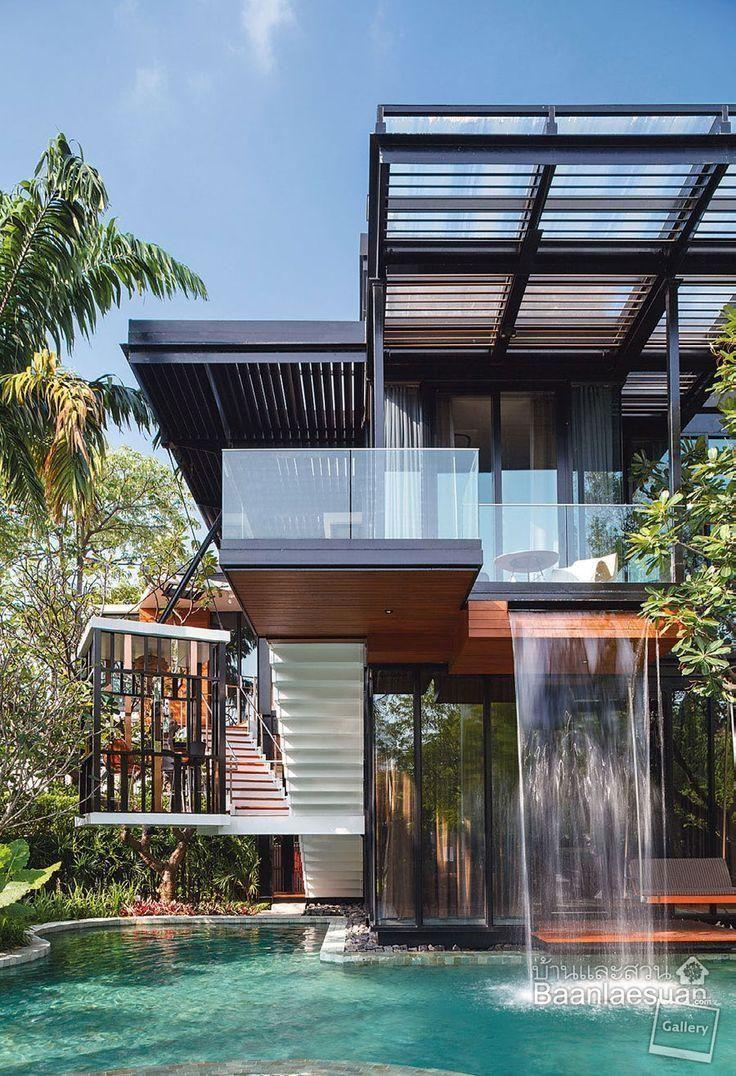 Amazing House Built Across A River - Amazing house built across a river