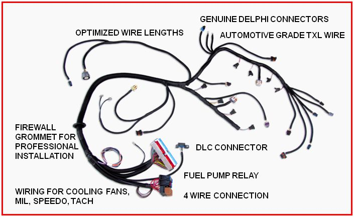 standalone ls1 wiring harness diagram