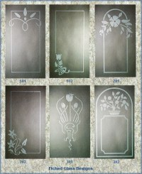 Etched Window Design | 2D-Design | Pinterest | Window ...