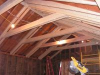 Opening up the attic to increase ceiling height and sense ...