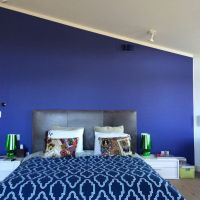 Color splash in the master bedroom: Benjamin Moore Bistro ...