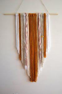 25+ best ideas about Handmade wall hanging on Pinterest ...