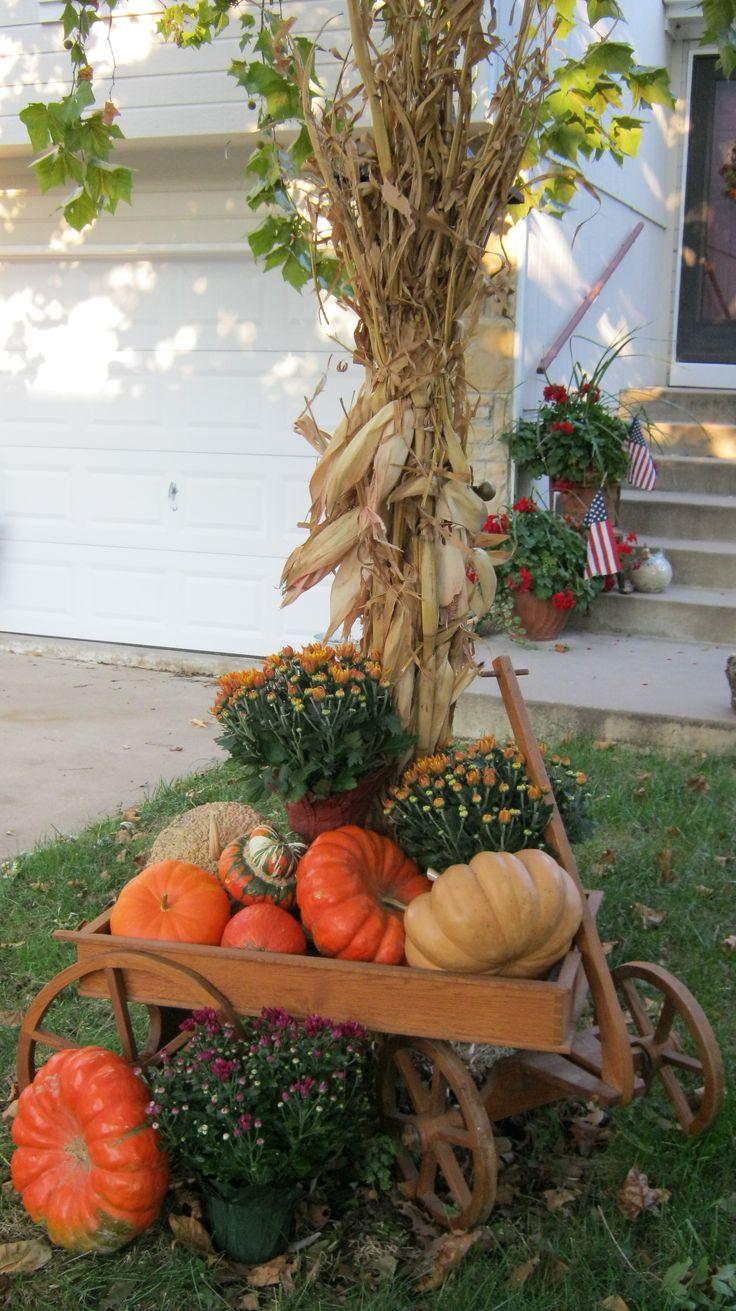 fall garden decoration ideas photograph falldecorationsg download - Fall Yard Decorating Ideas