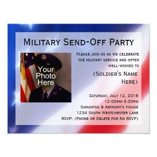 send off party invitation