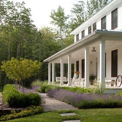 1000+ Ideas About Front Porch Landscape On Pinterest | Front Porch