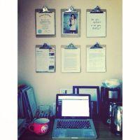 College dorm desk organization   For the Home   Pinterest ...