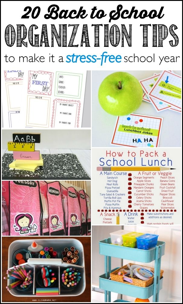 School Organization Tips 17 Best Images About Organized For School On Pinterest