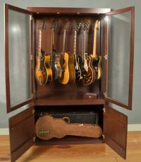 How To Build A Guitar Display Cabinet