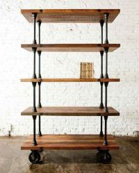 25+ best ideas about Industrial shelves on Pinterest ...
