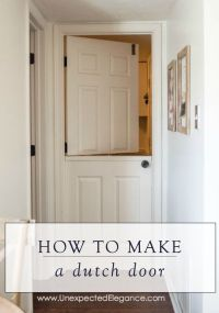 25+ best ideas about Dutch Door on Pinterest | Farmhouse ...