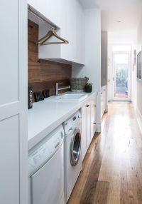 25+ best ideas about Narrow Laundry Rooms on Pinterest ...