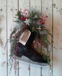 Wreath, Ice Skate, Holiday Skate, Christmas Skate ...