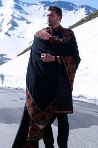 Kashmiri shawls/ sherwani suits... I always feel Indian ...