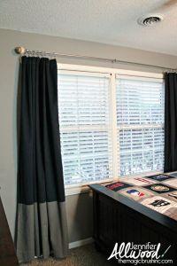 17 Best ideas about Baseball Curtains on Pinterest ...