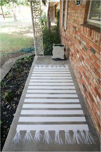 How to Paint Concretea Patio Makeover   Concrete patios ...