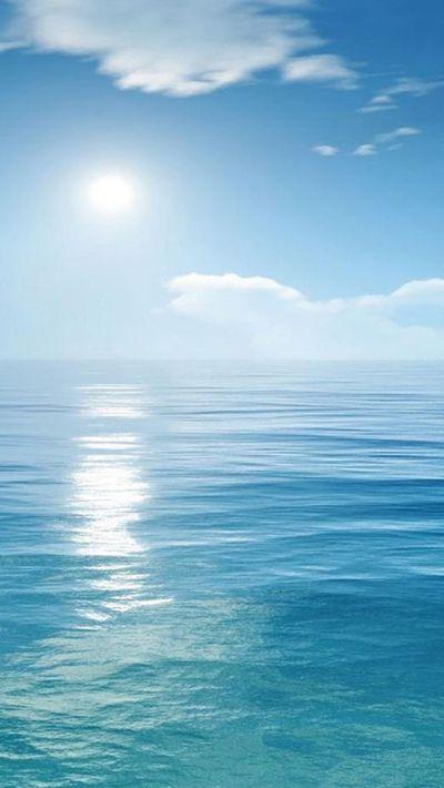 Bright Sunny Scene Over Ocean #iPhone #5s #wallpaper | iphone + macbook | Pinterest | Iphone 5 ...