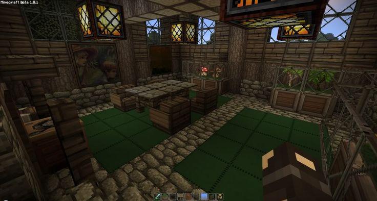 Minecraft Medieval House Interior Design Decorating 78266