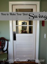 17 Best images about Swinging door on Pinterest | Pantry ...
