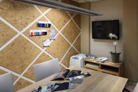 Conference Room, cork board wall | Office Space ...