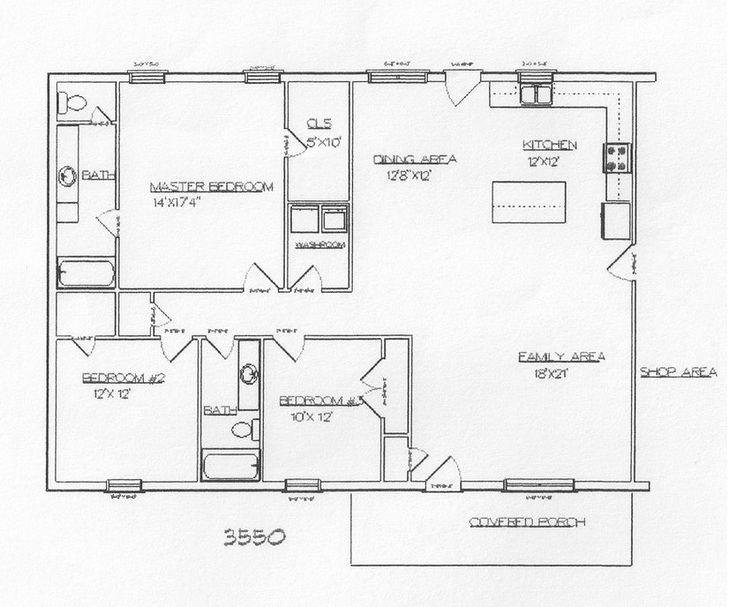 Barndominium And Metal Building Plans House Pinterest