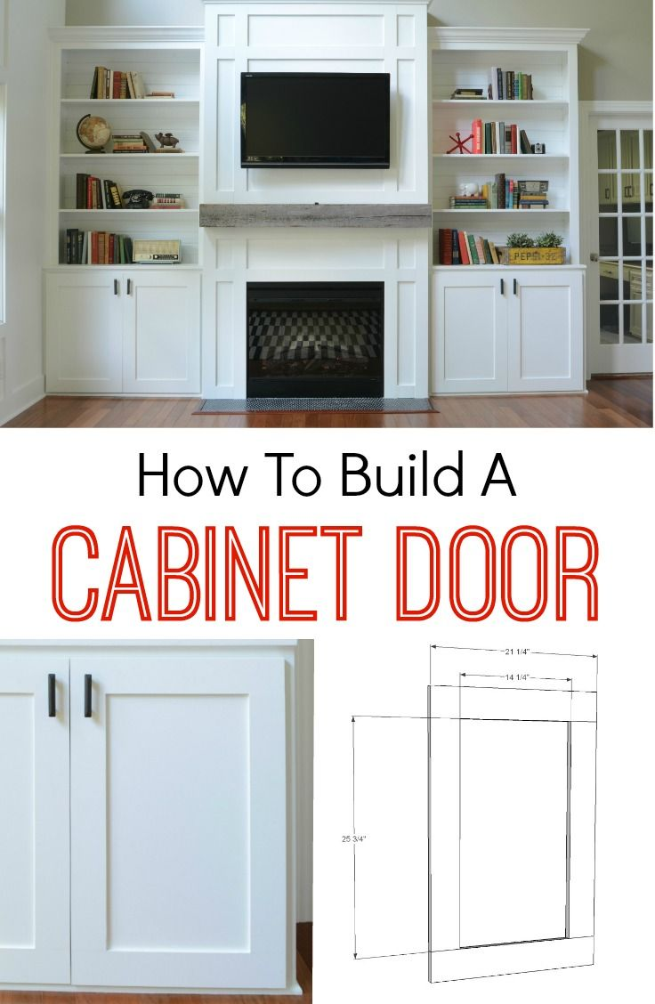diy cabinets building a kitchen cabinet How to Build a Cabinet Door