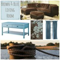 130 best images about Brown and Tiffany Blue/Teal Living ...