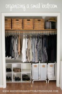 25+ best ideas about Small closet organization on