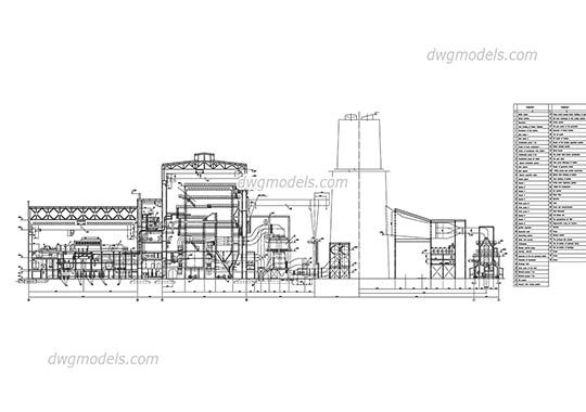 thermal power plant p